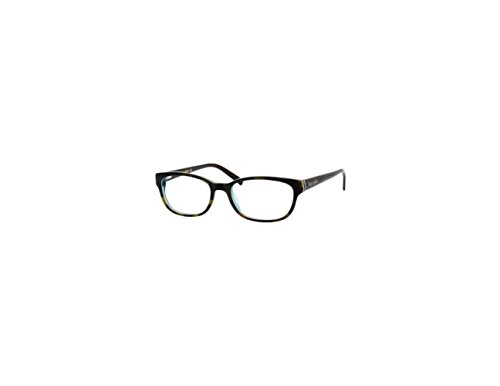 Kate Spade Blakely - Custom Prescription Eyewear - (Tortoise Turquoise Frame - Single Vision Lightweight High Index w/ Blue Light Anti-Glare) (Takumi Eyeglass Frames)