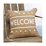 Mud Pie Welcome Pillow Wrap
