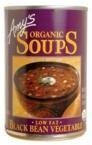Amy'S Organic Black Bean Vegetable Soup 14.5-Ounce Cans (Pack of 6) - Pack Of 6