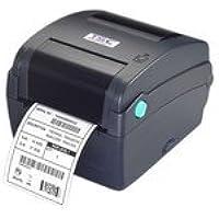 TSC 99-033A002-20LF Desktop Thermal Transfer Barcode Printer, TTP-343C, 300 dpi, 5 IPS, 2MB Flash, 8MB SDRAM, RTC, Blue