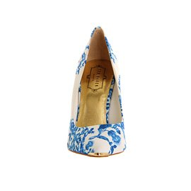 9d178655b Ted Baker Luceey High Heel Blue Satin - 4 UK  Amazon.co.uk  Shoes   Bags