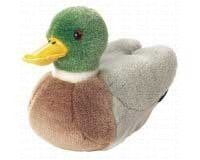 (Wild Republic Audubon Plush Mallard Duck with Authentic Quack)