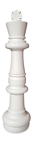 MegaChess Individual Chess Piece - King - 37 Inches Tall - White by MegaChess