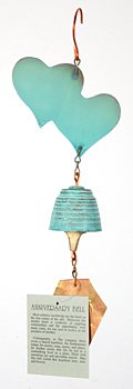 Harmony Hollow Anniversary Bronze Wind Bell