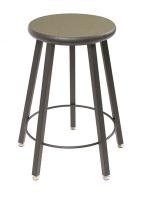 - Wisconsin Bench Five-Leg Stool With Laminate Seat - 18