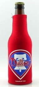 MLB Philadelphia Phillies Red Sports Fan Cold Beverage Koozies, Team Color, One Size