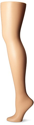 L'eggs Women's Silken Mist 2 Pair Control Top Silky Sheer Leg Panty Hose,Nude,Queen Plus