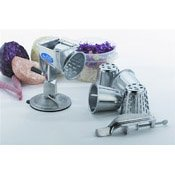 Vollrath 6004 Redco King Kutter Manual Food Processor with Clamp Base (#1, #2, #4 Cones)