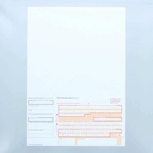 Litfax SEPA-Überweisung / Zahlschein A4 Talon links neutral 1 PG = 100 Blatt