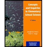 Concepts and Inquiries in Elementary Science, Peters, Joseph M. and Gega, Peter C., 0130867500