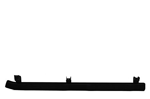 Toyota PT767-35112 Double Cab Short Bed 5-inch Black Oval Tube Step
