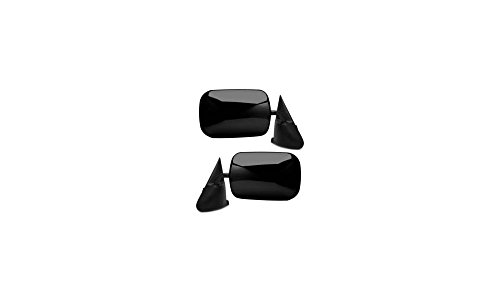 Kool Vue Set of 2 Mirror Manual for 94-97 Dodge Ram 1500 Left & Right (96 95 97 94 Manual)