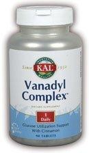 Vanadyl Complex 10mg Kal 90 Tabs - 90 Gtf Tabs Chromium