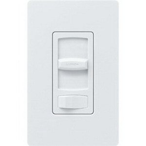 Lutron Deep Back Cover CT 1.5A Quiet Fan Speed White (CTFSQ-FH-WH)