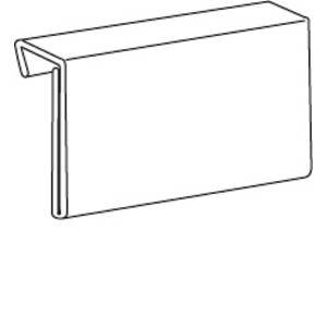 5 1/2 x 3 1/2 Shelf Edge Sign (Edge Sign Holder)