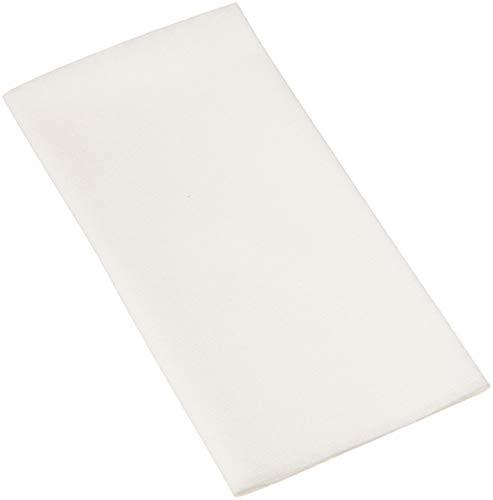 AmazonBasics Linen-Feel Napkin, Flat Pack, 16