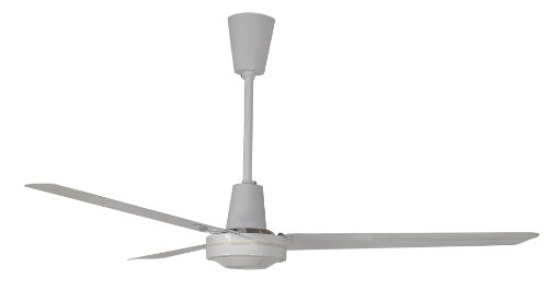 Leading Edge 56HRCF Commercial Ceiling Fan, 19800 280 CFM, White