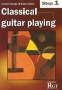 Guitar Playing Exam Book ([(Classical Guitar Playing: Step 1 LCM Exams )] [Author: Tony Skinner] [Jun-2008])