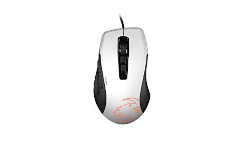 ROCCAT KONE Pure Owl-Eye – Optical RGB Gaming Mouse, White (ROC-11-725-WE)