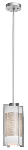 Access Lighting 20738-BS/OPL Iron Hanging Mini Pendant, Brushed - Iron Slope Ceiling Adapter