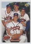 Greg Maddux; Steve Avery; John Smoltz; Tom Glavine (Baseball Card) 1993 Upper Deck - [Base] #472