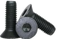 Flat Head Socket Screw Head: Flat Head Quantity: 100 Thermal Black Oxide Hex Screw Drive: Hex Socket Alloy Steel #4-40 x 3//16 Allen Screw