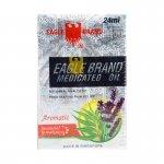 Eagle Brand Medicated Oil Aromatic Lavender Eucalyptus - 12 bottles (24 ml each) (Eagle Oil)