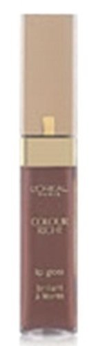 L'Oreal Colour Riche Gloss, Soft Nude [805], 0.23 oz (Pack of 2)
