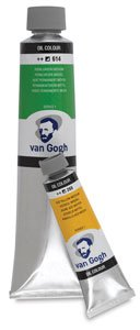 Royal Talens Van Gogh Artists' Oil Color, 200ml Tube, Naples Yellow Red (02082243)