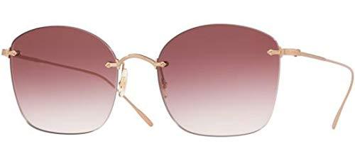 Oliver Peoples Eyewear Women's Marlien Sunglasses, Rose Gold, One ()