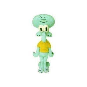 Spongebob Squarepants - Squidward Tentacles Plush - Squidward Stuffed Animal (9in) by Ty Beanie Babies