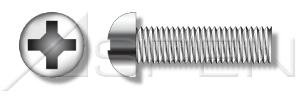 (2000pcs) #10-32 X 1/4' Round Head, Phillips Drive, Machine Screws, Stainless Steel 18-8, Ships FREE in USA by Aspen Fasteners