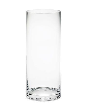Glass Cylinder Vase 30cm X 12cm Amazon Kitchen Home