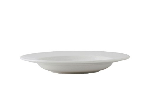 Tuxton ALD-112 Vitrified China Alaska/Colorado Accessories Pasta Bowl, 15-1/2 oz, 11-1/4'', Porcelain White (Pack of 12), Oven-Microwave-Pressure Cooker Safe; Freezer to Oven Safe by Tuxton