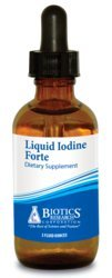 - Biotics Research Liquid Iodine Forte™ supports healthy thyroid function, maintains healthy iodine levels, provides metabolic support, potent antioxidant.