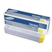 Samsung Genuine Brand Name, OEM CLXY8540A (CLX-Y8540A) Yellow Toner Cartridge (15K YLD) for CLX-8540ND Printers