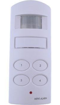 UniquExceptional UMA20 Motion Activated Alarm with Keypad (White)