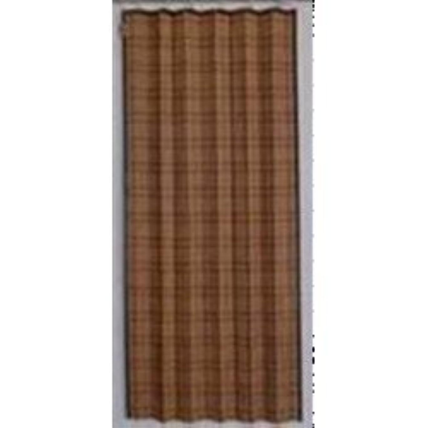 ピアノ組み込む慣れているワタナベ工業 アルミ配合 省エネすだれ コバルト 88×180cm ブラウン/ブラック 949178