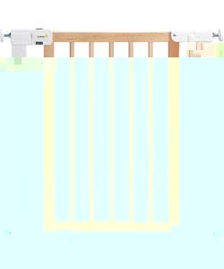 Safety 1St Easy Close Safety Gate - White/Natural.