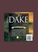 Dake's Annotated Reference Bible KJV; The Holy Bible: King James Version Dake's Annotated Reference Burgundy Imitation Leather Compact Reference