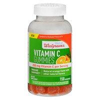 Walgreens Vitamin C 250 mg Gummies, Orange, 150 ea - 2pc