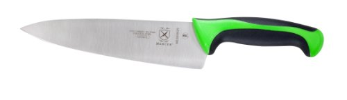 Mercer Culinary M22608GR Millennia 8-Inch Chef's Knife, Green (Commercial Chef Knives)