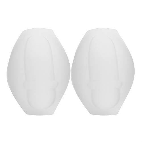 iiniim 2pcs Men Bulge Foam Pads Enhancing Enlarger for Swimming Trunk Swim Brief Shorts Underwear Padded White One Size