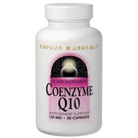Coenzyme Q10, 75 MG, 30 Caps by Source Naturals (Pack of 2)