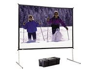Fast Fold Deluxe Screen System - Fast-Fold Deluxe Screen System Portable W/ Hd Legs