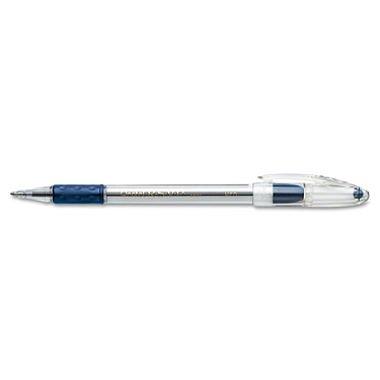 (Pentel BK91C R.S.V.P. Stick Ballpoint Pen, 1mm, Trans Barrel, Blue Ink, Dozen)