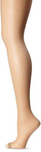 Berkshire Women's Hose Without Toes Ultra Sheer Control Top Pantyhose 5115, Natural Tan, 3