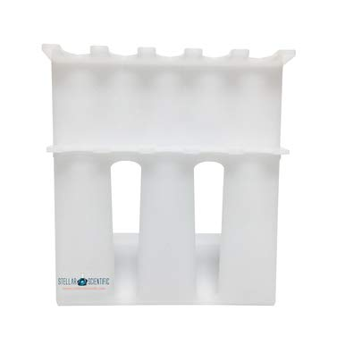 5 Place Acrylic Pipette Stand for Single and Multi-Channel Pipettes, 1/EA
