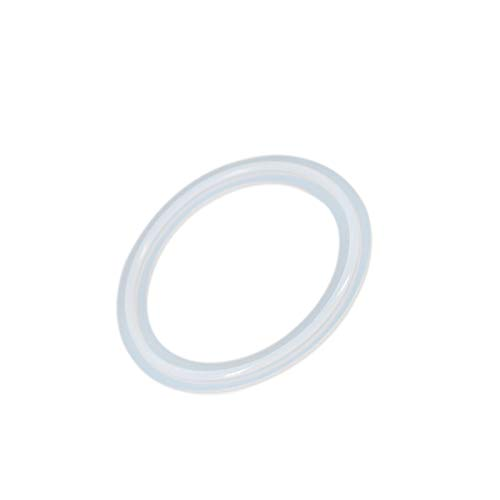 "1//2/""-8/"" Silicon Gasket Fits 50.5mm-232mm OD Sanitary Tri Clamp Type Ferrule new"