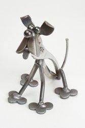 Yardbirds Junkyard Metal Animal Toolies - Ralph The Dog Unpainted - 82733 by Toolies